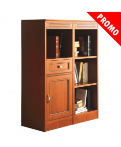 storage low cabinet, low cabinet, wooden cabinet, living room cabinet, bookcase, Arteferretto furniture