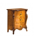 inlaid bedside table, nightstand in wood, wooden furniture, bedroom furniture, classic style bedside table