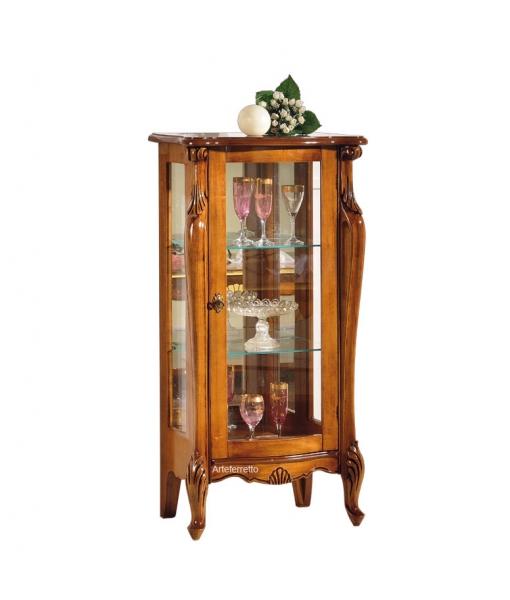 Low display cabinet in wood. Sku e454-v