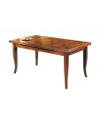inlaid dining table, extendable table, wooden table, inlaid table, classic table, rectangulat table,