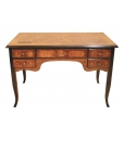 inlaid desk, wooden desk, decorated desk, classic style desk, writing desk for office, office furniture, bureau furniture