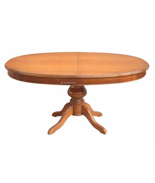 Extendable dining table oval shape. Sku 447