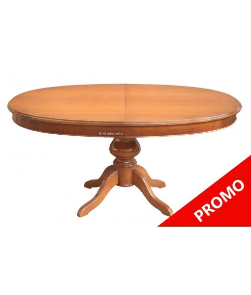 Extendable dining table oval shape. Sku 447
