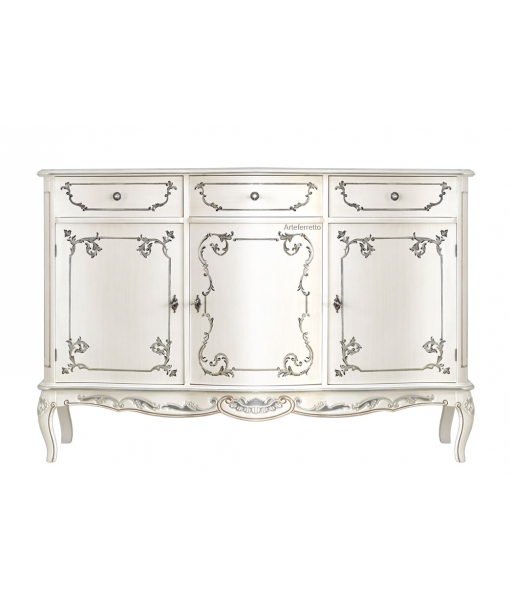 3 door decorated sideboard. Sku a216-v