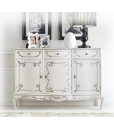 3 door decorated sideboard, classic sideboard, dining room sideboard, luxury sideboard, Italian design sideboard
