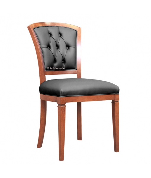 Button back dining chair. Sku af-9566-b