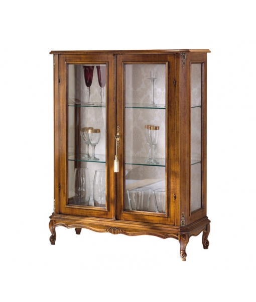 Wood display cabinet high quality. Sku e117-v