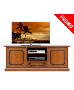 living room tv cabinet in wood, wooden tv stand, classic style tv stand, cherry colour tv stand