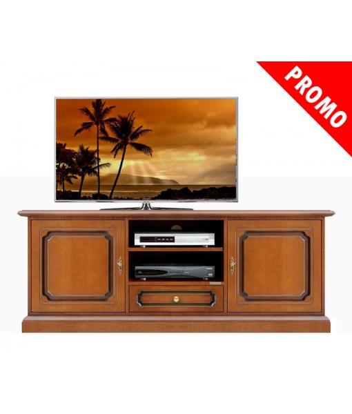 Living room tv cabinet in wood. Sku 3059-l-promo