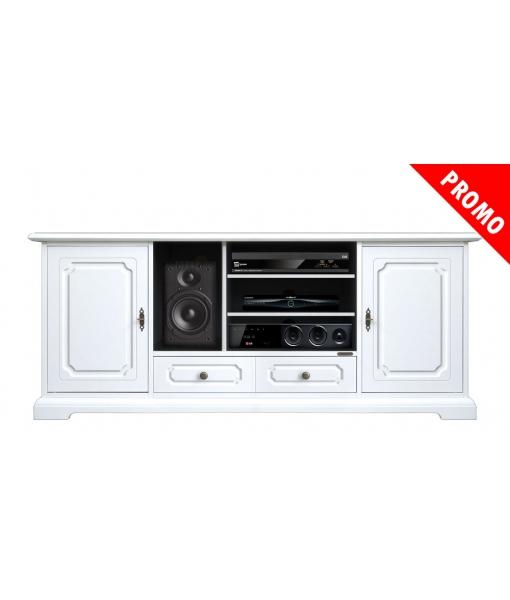 Wood tv cabinet 160 cm. Sku 4070-sav-promo