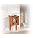 small display cabinet in wood, living room cabinet, small cabinet, classic display cabinet