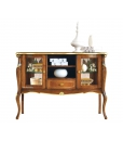 display cabinet, display sideabord, classic style sideboard, classi style furniture, living room furniture, living room sideboard, wooden sideboard with glass doors