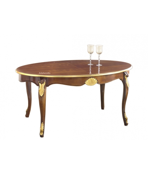 Oval dining table. Sku e487-v