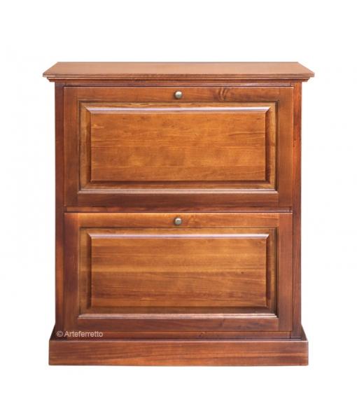 Flip door shoe cabinet. Sku e712