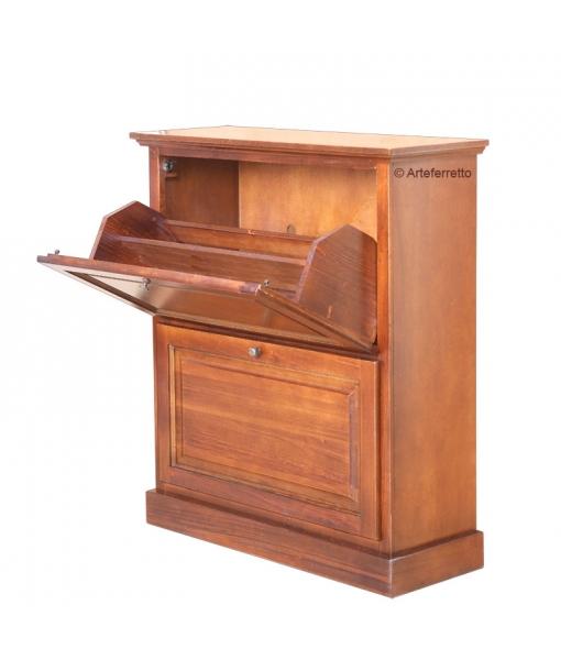 flip door shoe cabinet, wooden shoe rack, small shoe cabinet, entryway cabinet, pull down door shoe cabinet, wooden shoe cabinet