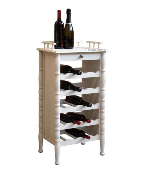 wine furniture, wine shelves, wine rack in wood, wood wine cabinet, white wine rack