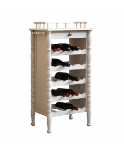 wine furniture, wine shelves, wine rack in wood, wood wine cabinet, white wine rack