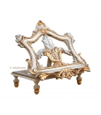 Carved wood lectern in gold leaf, luxury lectern, precious lectern, golden lectern, wood lectern, classic lectern