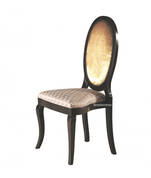 Oval back chair in wood. Sku ms-a73