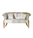 elegant living room sofa, 3 seater sofa, wood sofa, upholstered furniture, living room sofa, hallway sofa