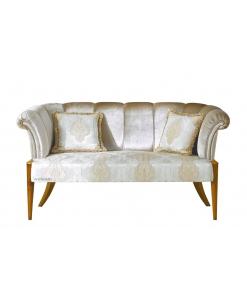 elegant living room sofa, 3 seater sofa, wood sofa, upholstered furniture, living room sofa, hallway sofa