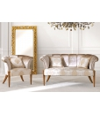 living room set armchair and sofa in classic style