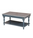 distressed coffee table for living room, wooden coffee table, rectangular coffee table, Arteferretto furniture