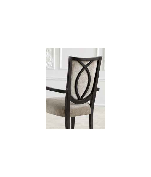 dining chair, wooden chair, modern design chair, Italian design chair, handcrafted armchair, head-table chair, wooden chair with armrests