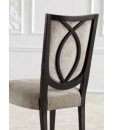 design dining chair, wooden chair, modern chair, comfortable dining chair, black chair, solid structure chair