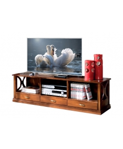 low tv cabinet, wooden tv cabinet, tv stand in wood, Italian design tv cabinet, living room tv unit, 3 drawers tv unit