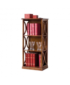 small open shelving bookcase, wooden bookcase, space saving bookcase, bookshelf, living room bookcase, living room furniture