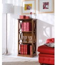 Open shelving bookcase, wooden bookcase, space saving bookcase, bookshelf, living room bookcase, living room furniture