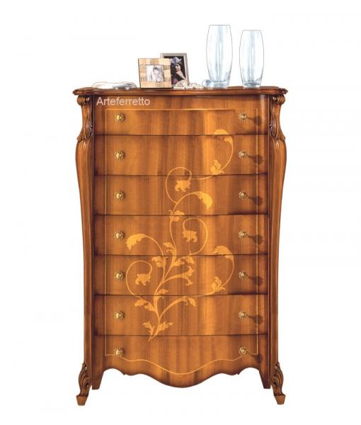 Floral inlay dresser. Sku e424-v