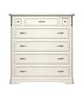 carved dresser, chest of drawers, dresser with flap, wooden dresser, classic style dresser, Italian design dresser,