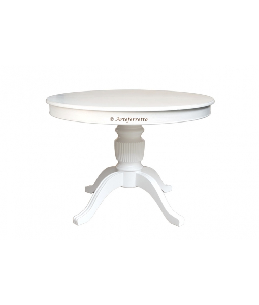 Lacquered round table. Sku 1446-100-bi