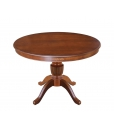 extendable round table for dining room, rounded table, dining table, classic style table, round table, extendable table, Italian design