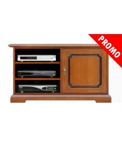 One door tv cabinet in wood, wooden unit, wooden cabinet, living room unit, tv stand, 1 door tv stand, Arteferretto furniture, Arteferretto tv cabinet