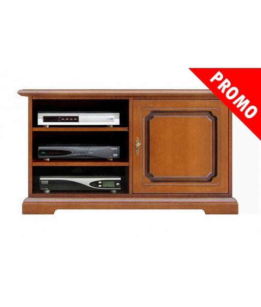 1 door tv cabinet in wood. Sku 3810-promo