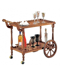 wooden food trolley, food trolly for living room, classic food trolley, classic furniture, kitchen food trolley