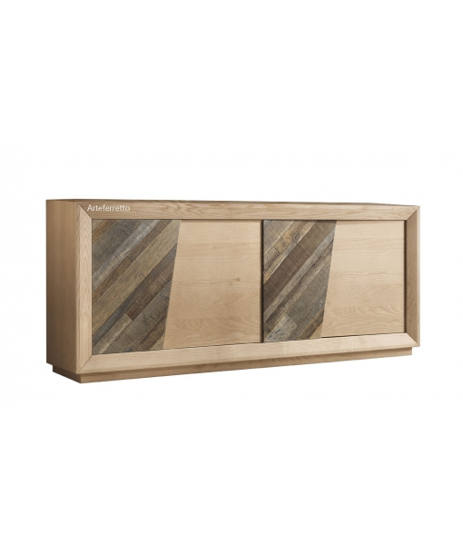 Ash wood sideboard for living room. Sku a051-em