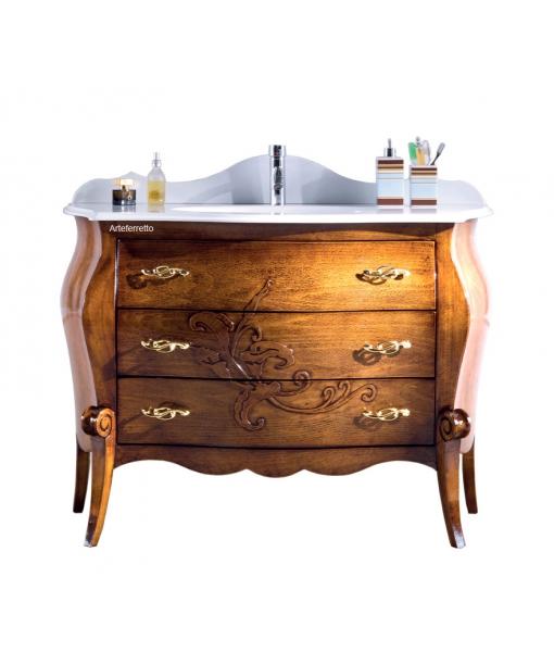 Classic bathroom vanity. Sku BA-02-FS