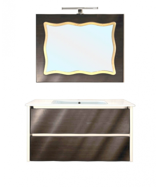 Suspended vanity unit with basin. Sku CM-02