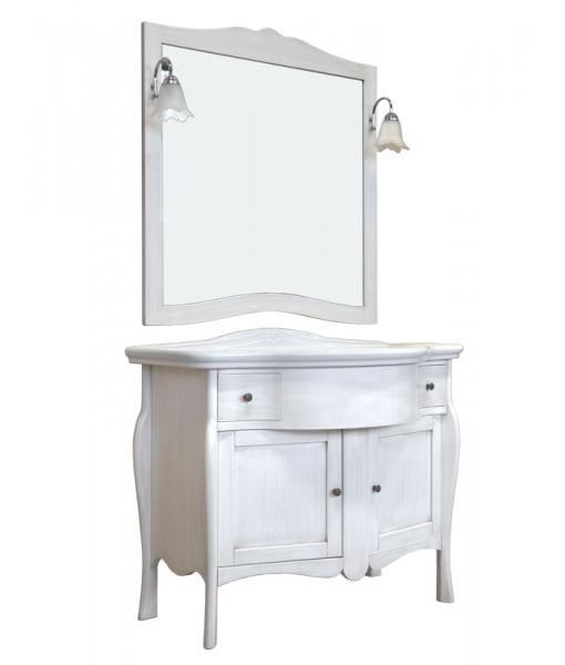 Bathroom cabinet in wood. Sku cm-01