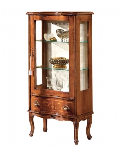 inlaid display cabinet, wooden display cabinet, living room furniture