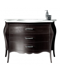 lacquered bathroom chest of drawer, bathroom dresser, bathroom furniture, stylish furniture