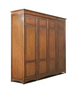 wooden wardrobe, bedroom wardrobe, classic style wardrobe