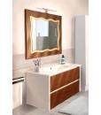 vanity unit, suspended vanity unit, bathroom cabinet, bathroom furniture, 2 drawers unit,