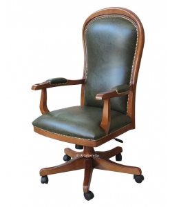 executive armchair for office, office armchair, swivel armchair, classic swivel armchair,