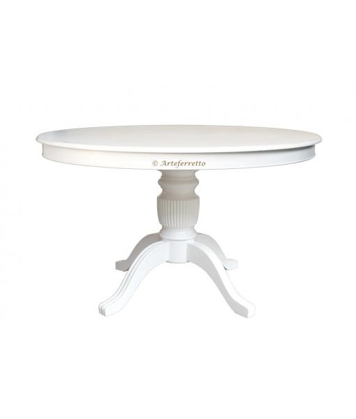 Extendanble dining table in wood. Sku 1446-120-bi