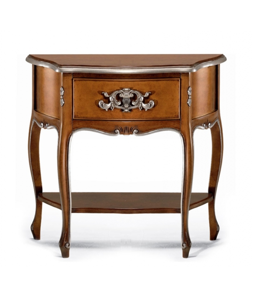 Inlaid bedside table for bedroom in classic style. Sku 756-mg